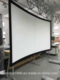 """"""" écran de projecteur Écran-Incurvé par projection de vue fixe du 2.35:1 100"""