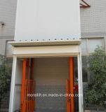 elevatore idraulico verticale del carico 3000kg con rete protettiva