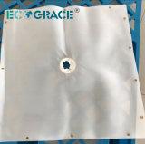 Tissu filtrant de charbon de lavage de PA pour le filtre-presse