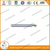 La UL enumeró el cable acorazado enclavijado aluminio de Mc de la No-Envoltura