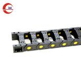 Pont ouvrable Style PA66 de protection de la chaîne de câble en plastique