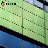 Exportação Ideabond Filipinas Green 4mm de material de revestimento da parede exterior (AF-35F)