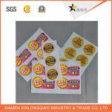 Etiqueta impressa quente do papel de impressão da etiqueta da impressora do emblema do Tag da venda