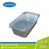 Le grillage de casseroles en aluminium à usage unique en santé