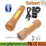 3 dans 1 haut-parleur de Bluetooth de bicyclette de vélo de DEL avec le chargeur de côté de pouvoir