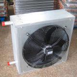 60kw 온수 열교환기 코일 Varmeventilator 거는 단위 히이터