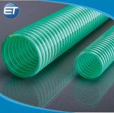 Espiral reforçadas de plástico de PVC de pó de sucção de água do tubo de borracha do tubo de Jardim