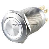 Momentayのリングによって照らされる金属の押しボタンスイッチ(16mm、19mm、22mm、25mm、30mm)