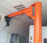 Alta qualidade guindaste de patíbulo de 360 graus com grua elétrica