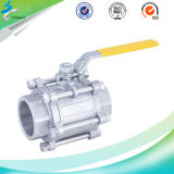 精密Stainless Steel Thread 3PC Ball Control Valve