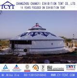 Шатер Yurt случая свадебного банкета холстины алюминиевый Bamboo монгольский