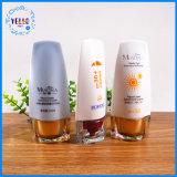 50ml kundenspezifische Sun Sahne, die kosmetische Flasche verpackt