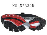 男の子のスポーツは子供の靴の標準的な靴31-37#に蹄鉄を打つ