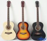 Aiersi nova chegada instrumento musical violão acústico coloridos