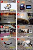 Selbstheizungs-kalte einzelner und doppelter Film-lamellierende Laminiermaschine-Laminierung-Maschine des Seiten-Beutel-BOPP