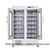 frigorifero medico della Banca di anima della catena fredda 1000L