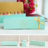 10pcs Boda Macaron Cookie Cake Chocolate Caja de papel de embalaje almacenamiento