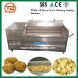 Tsxm-15 산업 야채 세척 세탁기 장비 솔 감자 청소 껍질을 벗김 기계