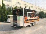 Carrello poco costoso Qingdao, Cina del basamento di concessione del rimorchio del caffè di vendita