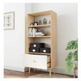 Großhandelsmöbel-online weißes hölzernes kleines Büro-Bücherregal mit Fächern