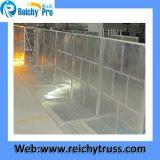Barriere di alluminio che piegano per l'evento esterno