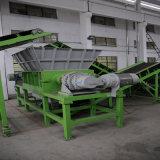 플라스틱 병 절단 및 기계장치 두 배 샤프트 슈레더 재생하기