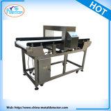 Detector de metales de la línea de producción de alimentos con varilla de rechazar