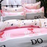 Barato preço impresso roupa de casa em estilo simples roupa de cama
