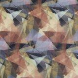 Tessuto ad alta densità di stampa dei triangoli del poliestere 600d PVC/PU