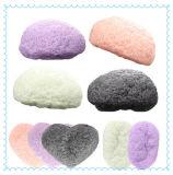Facial natural da esponja do banho de 100% que limpa a esponja Konjac