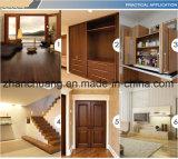 Burl diseño en madera de melamina impregnaron papel decorativo de MDF muebles