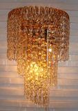 Grande lâmpada de parede decorativa para casa e hotel feita de cristal