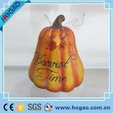 Figurine artificiale Handmade delle zucche della resina di Halloween da vendere