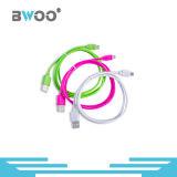 Cabo de dados de transferência de USB colorido para celular