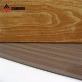 Ideabond ASTM Popular titulados PE Painel Composto de alumínio de madeira revestida