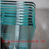 China 5mm super großes Niedrig-Eisen Tmepered Glas