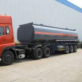 3개의 BPW 차축 스테인리스 탱크 기름 트럭 트레일러
