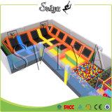Les plus populaires de haute qualité parc commercial de trampoline pour la vente