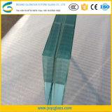 10mm Super Grande Low-Iron Vidro laminado temperado