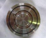 Tipo fino válvula da única placa da bolacha de verificação