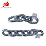 Galvanzied larga cadena de eslabones de acero soldado