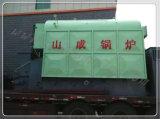 Промышленных угольных паровой котел, стреляли из светлого дерева бойлер, промышленных паровой котел!