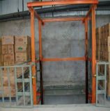 Table élévatrice de cargaison de chaîne de longeron de guide en vente