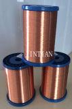 المغناطيس سلك من مادة البولي يوريثين جولة الأسلاك النحاسية (فئة 155)