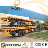 2 Axle/3 Axle를 가진 40feet Flatbed Container Trailer
