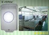 6W 고품질 한세트 IP65 통합 LED 태양 가로등