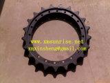 Las piezas de Caterpillar D6H D6r d6T Topadora excavadora carretilla segmentos de la rueda dentada del tren de rodaje