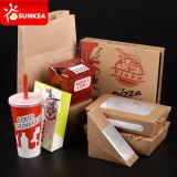 Disponible quitar el empaquetado de papel del abastecimiento de los alimentos de preparación rápida