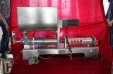 Semi-automática de un cabezal salsa espesa / pasta de frijol / mantequilla de maní Pega-Agitado Máquinas de llenado (tipo horizontal) 100-1000ml