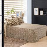 Van het Katoenen van de luxe de Ontwerp Afgedrukte Dekking van het Bed Beddegoed van de Luipaard